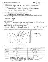 photosynthesis review key 2 9