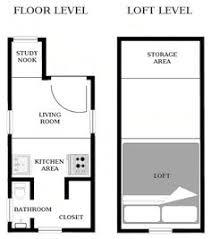 Tiny House Floor Plan Maker 8x16 Tiny House Floor Plan Sample From The Book Tiny House Floor