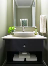 modern powder room vanity powder room craftsman with bathroom bay