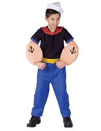 4t Halloween Costumes Cheap Popeye Halloween Costume Popeye Halloween Costume