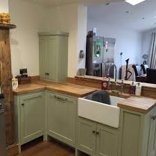 fitted kitchen cabinets handmade fitted kitchen farrow and ball vert de terre reclaimed