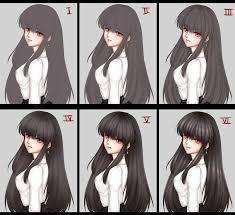 anime hairstyles tutorial tutorials favourites by hunosan on deviantart