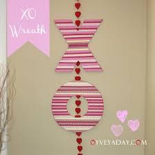 valentines door decorations s craft xo wreath door decoration for 10