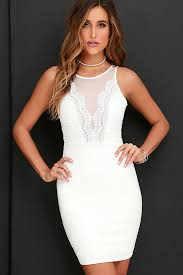 white dresses white dress lace dress bodycon dress 54 00