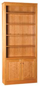 36 inch bookcase with doors linden bookcase