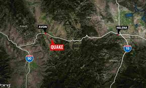 Billings Montana Map by Earthquake Rattles Residents West Of Helena Ktvq Com Q2