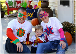 family superhero halloween costumes