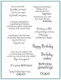 birthday greetings by k designs change from the usual