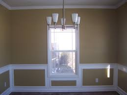 dining room paint colors with chair rail with image 1 of 19