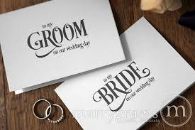wedding card to groom from to my groom wedding card enchanting style or to my