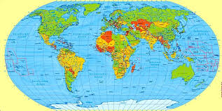the map of the earth eart map major tourist attractions maps