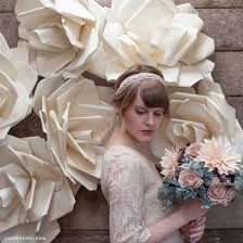 wedding backdrop tutorial jumbo paper flower tutorial by lia griffith project home