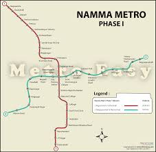 Map Running Routes by Namma Metro Bangalore Metro U2014 Map Lines Route Hours Tickets