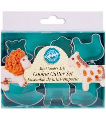 wilton mini metal cookie cutters 1 1 2 noah s ark joann