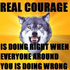 Meme Courage Wolf - courage wolf