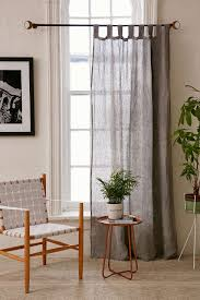 sheer linen window panel regal blue westelm dye the cheap