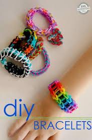 6 rainbow loom bracelet tutorials to make make and takes