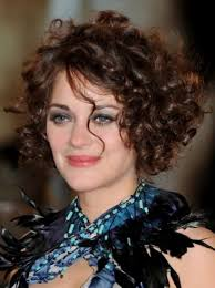 short curly hairstyles for round faces best hairstyles collection