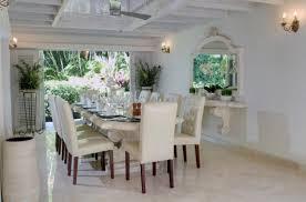 lane dining room furniture bluff house and cottage sandy lane barbados villa rental