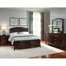brown 6 bedroom set avalon rc willey furniture store
