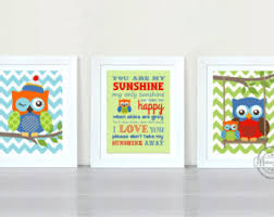 Owl Pictures For Kids Room by Nursery Owl Print Nursery Decor Baby Boy Nursery Wall Art