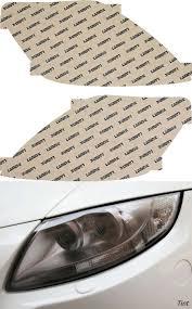 Yaris Sedan 2008 Toyota Yaris Sedan 07 11 Tint Headlight Covers