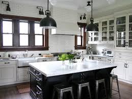 Designer Kitchens Pictures Facelift Modern Black And White Kitchen Island Hood Designer