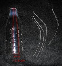 deck the s icicle ornaments from plastic bottles