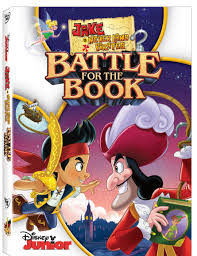 jake neverland pirates battle book dvd