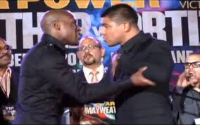 Mayweather vs Ortiz – Face Off (Video)