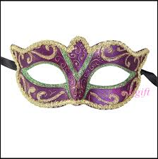 mardi mask free shipping mardi gras masquerade mask purple green gold