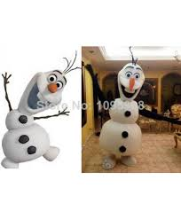 Halloween Mascot Costumes Quality Frozen Olaf Mascot Costume Snowman Mascot Costume