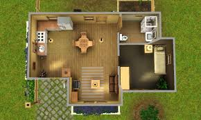 Big House Blueprints Sims 3 House Plans Free