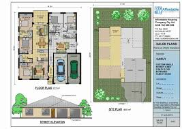 100 multi family home floor plans 3d cut section design of