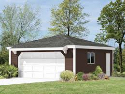 guadalupe hip roof garage plan 002d 6034 house plans and more