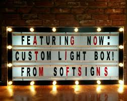 Home Decor Signs And Plaques Cinema Light Box In Home Furniture U0026 Diy Home Decor Plaques