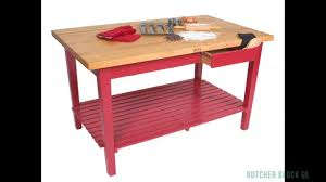 john boos classic country work table review butcher block co