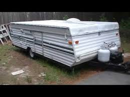 Starcraft Pop Up Camper Awning Instructions On How To Set Up Popup Camper Or Tent Trailer Youtube