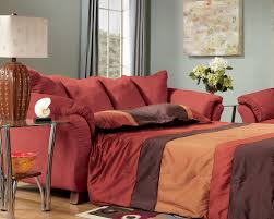 Red Sofa Furniture Ashley 361 01 36 Cocoa Sofa Sleeper Fullsize