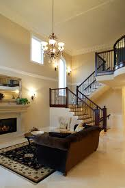 Design Living Room With Fireplace And Tv 54 Living Rooms With Soaring 2 Story U0026 Cathedral Ceilings