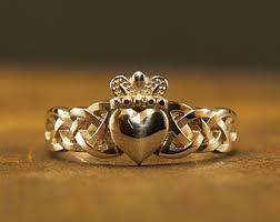 claddagh ring handmade claddagh ring etsy