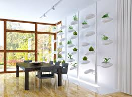 self watering indoor hydroponic vertical garden system doubles as
