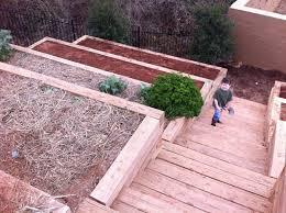 Steep Hill Backyard Ideas Landscape Garden Hill Garden Champsbahrain Com