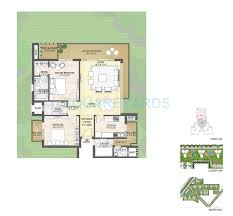 2 bhk 1700 sq ft apartment for sale in puri emerald bay at rs
