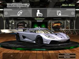 need for speed underground 2 cars by koenigsegg nfscars