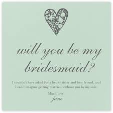 bridesmaid card wording bridesmaid and groomsman request cards online at paperless post