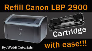Toner Canon Lbp 2900 canon lbp 2900 toner refill tutorial easy method