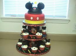 31 Best Mickey Birthday Cakes Images On Pinterest Fondant