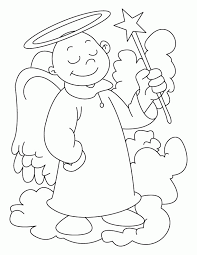 angel color pages angel coloring pages printable coloring home