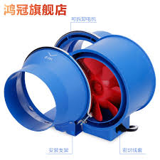 crown pipeline fan 150 powerful exhaust fan bathroom mute exhaust